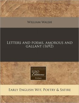 Letters and Poems, Amorous and Gallant (1692)