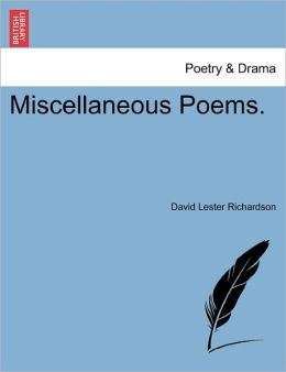 Miscellaneous Poems.