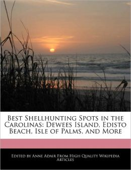 Best Shellhunting Spots in the Carolinas: Dewees Island, Edisto Beach, Isle of Palms, and More