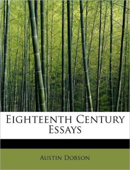 Eighteenth Century Essays