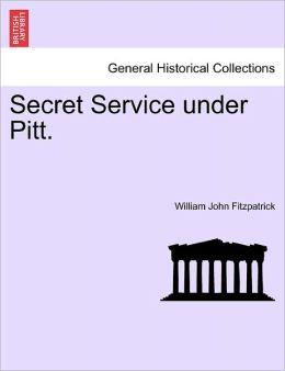 Secret Service Under Pitt.