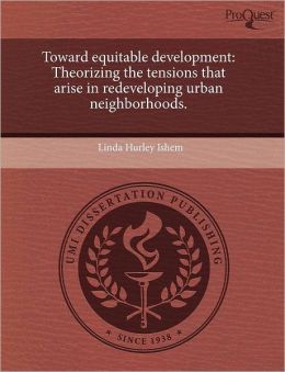 Toward Equitable Development