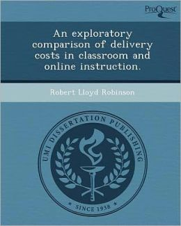 An exploratory comparison of delivery costs in classroom and online instruction.