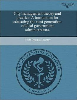 City Management Theory And Practice