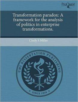 Transformation Paradox