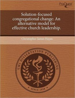 Solution-Focused Congregational Change
