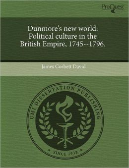 Dunmore's New World