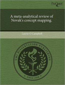 A Meta-Analytical Review Of Novak's Concept Mapping.