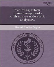 Predicting attack-prone components with source code static analyzers.