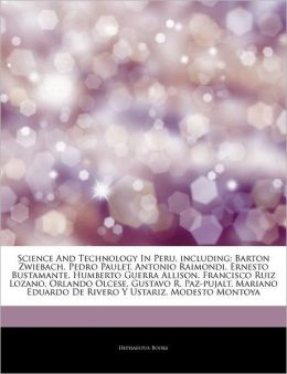 Science And Technology In Peru, Including