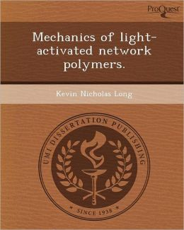 Mechanics of light-activated network polymers.
