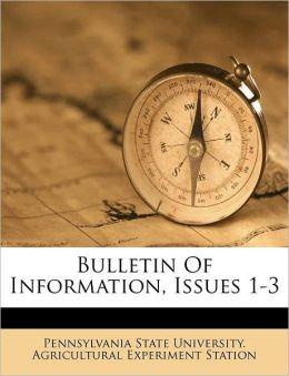 Bulletin Of Information, Issues 1-3