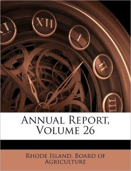 Annual Report, Volume 26