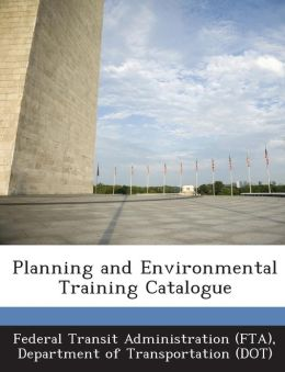 Planning and Environmental Training Catalogue