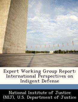 Expert Working Group Report: International Perspectives on Indigent Defense