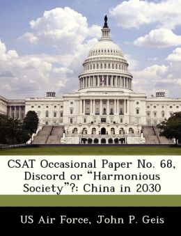 CSAT Occasional Paper No. 68, Discord or