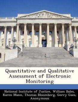 Quantitative and Qualitative Assessment of Electronic Monitoring