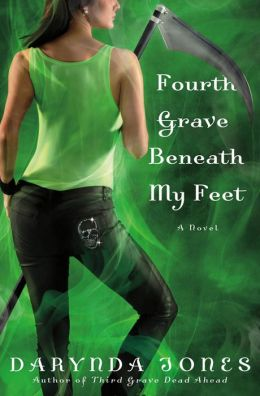 Fourth Grave Beneath My Feet (Charley Davidson Series #4)