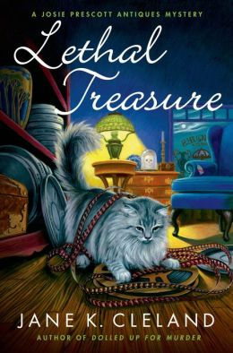 Lethal Treasure (Josie Prescott Antiques Mystery Series #8)