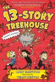 Book Cover Image. Title: The 13-Story Treehouse, Author: Andy Griffiths