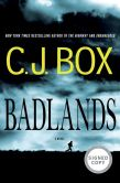 Book Cover Image. Title: Badlands (Signed Book), Author: C. J. Box