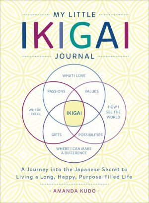 Book My Little Ikigai Journal: A Journey into the Japanese Secret to Living a Long, Happy, Purpose-Filled Life