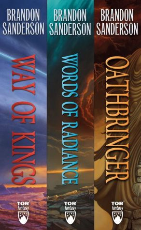 Book The Stormlight Archive, Books 1-3: The Way of Kings, Words of Radiance, Oathbringer