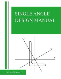 Single Angle Design Manual