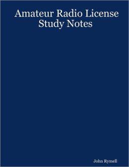 Amateur Radio License : Study Notes