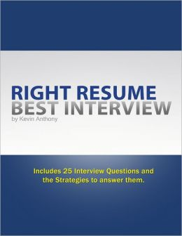 Right Resume Best Interview