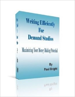Writing Efficiently for Demand Studios: Maximizing Your Money Making Potential