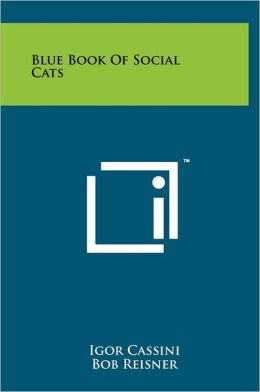 Blue Book Of Social Cats