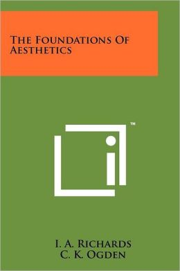 The Foundations Of Aesthetics
