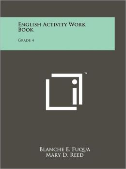 English Activity Work Book