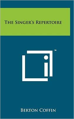 The Singer's Repertoire
