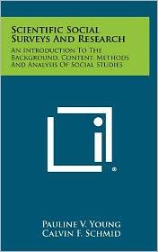 Scientific Social Surveys And Research