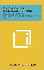 Education For Installment Buying