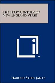 The First Century of New England Verse