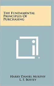 The Fundamental Principles of Purchasing