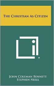The Christian As Citizen