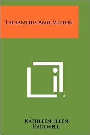Lactantius And Milton