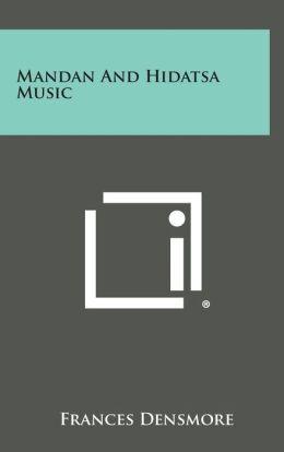 Mandan and Hidatsa Music