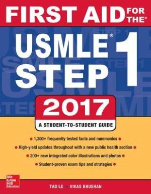 First Aid for the USMLE Step 1 2017 / Edition 27