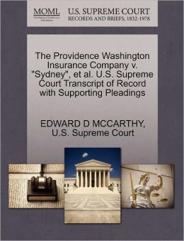 The Providence Washington Insurance Company v.