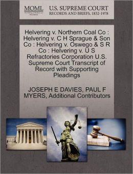 Helvering V. Northern Coal Co