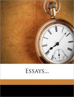 Essays...