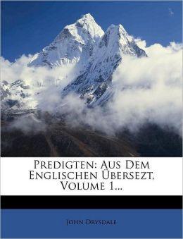 Predigten: Aus Dem Englischen bersezt, Volume 1...