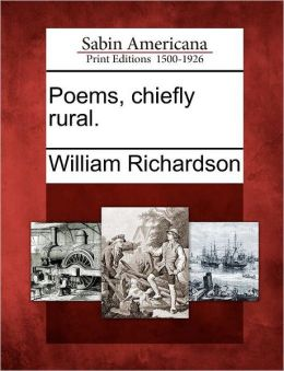 Poems, chiefly rural.