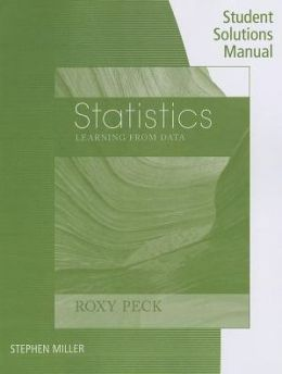 Student Solutions Manual for Peck's Statistics