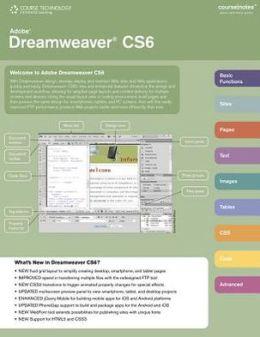 Adobe Dreamweaver CS6 CourseNotes